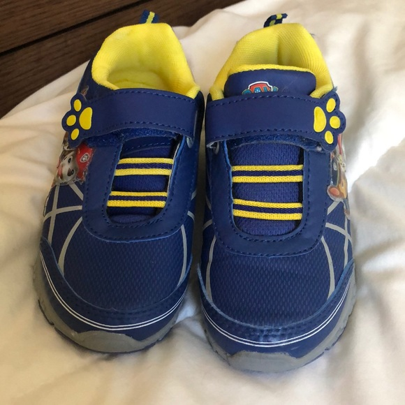 Other - Paw patrol boys sneakers toddler size 11